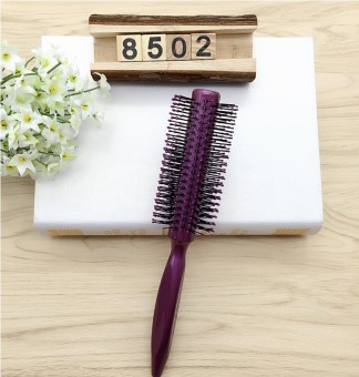 Round roll comb hair comb roller comb