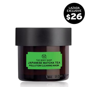 The Body Shop Japanese Matcha Tea Pollution Clearing Mask (75ML)