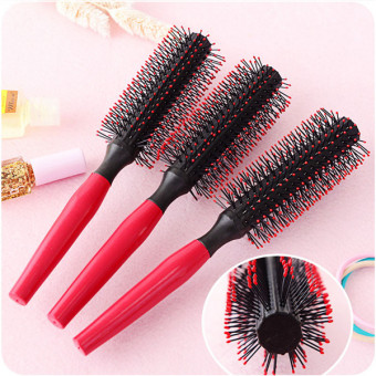 Tooth comb blowing style hair comb Leather