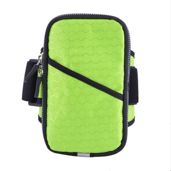 Cell Phone Sports Armband, Running Arm Bag Waterproof Arm Pocket - intl
