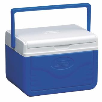 Coleman fliplid ice cooler box (4.7L Blue)