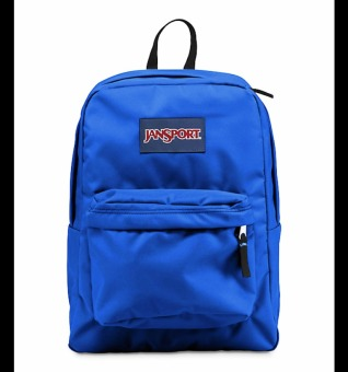 Jansport Superbreak Backpack Blue Streak | Lazada Singapore