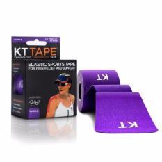 Kt Tape Original Cotton 20 Pre-Cut Strips-Purple