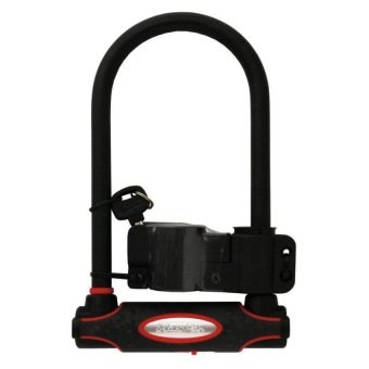 master lock 8195 u bar harden bike bicycle lock black lazada singapore. Black Bedroom Furniture Sets. Home Design Ideas