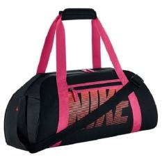 Nike Gym Club Women&039;s Training Duffel Bag ( Black/pink/b.mango)