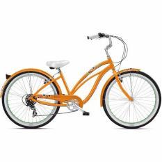 Nirve Cruiser Bicycle Matilda 7 Speed 16 Mango Tango
