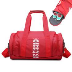 Portable Women Men Outdoor Travel Handbag Sports Gym Tote Bag(medium) - Intl