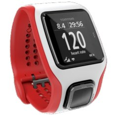 Tomtom Multi-Sport Cardio (red/white)