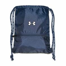 Under Armour Drawstring Bag Pack Basketball Swimming Outdoor Gyming Hiking (large) (navy Blue)