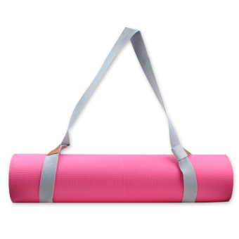 Yoga mat tied with Portable Bag multi-purpose stretch with shoulder strap