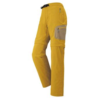 MontBell Convertible Half Pants Women Oil Yellow