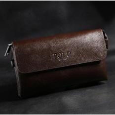 new western fashion handbag large capability pu leather business long wallet fliptype zipper purse