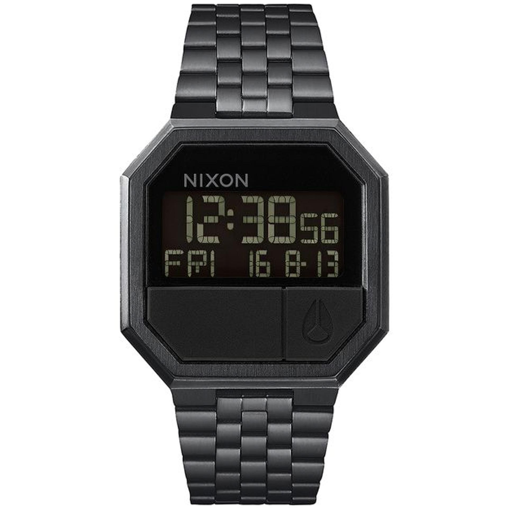 nixon re run mens black stainless steel watch a158001 lazada nixon re run mens black stainless steel watch a158001 lazada singapore
