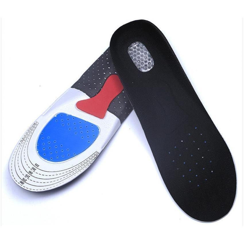 3 layer air cushion height increasing half insoles pads 1
