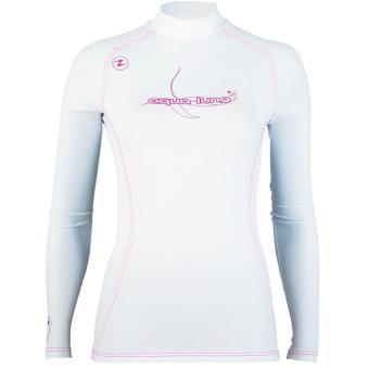 Rashguard Pink/Vanilla Women Long Sleeves