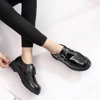 Ulzzang Korean-style female spring New style women's shoes small leather shoes