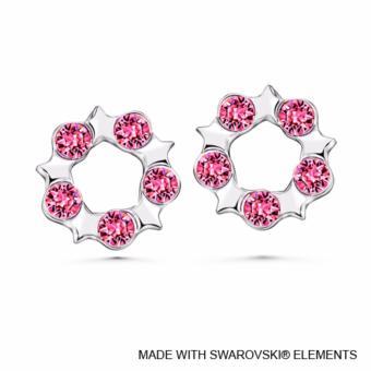 Becky Earrings Rose