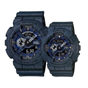 Casio G-Shock and Baby_G Couple Watch GA-110DC-1A & BA-110DC-2A1