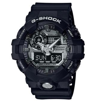 Casio G-Shock Based on GA-700 Black Resin Band Watch GA710-1A