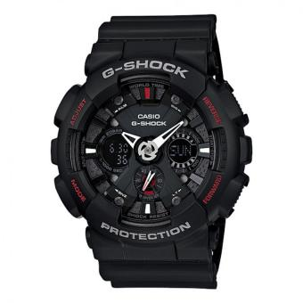 Casio G-Shock Men's Black Resin Strap Watch GA-120-1A