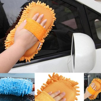 Harga Bigskyie Practical Cleaning Washing Cleaner Coral Microfiber Source · Sponge Clean Washing Pad Duster Car