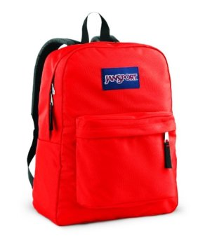 JanSport Superbreak Backpack Fluorescent Red | Lazada Singapore