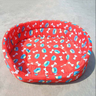 Pet cat dog basin Cat dog bed RED3