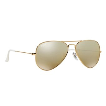 rb3025 large metal o7bc  RAY-BAN AVIATOR LARGE METAL CRY BROWN MIRROR SILVER GRAD Lenses RB3025 001