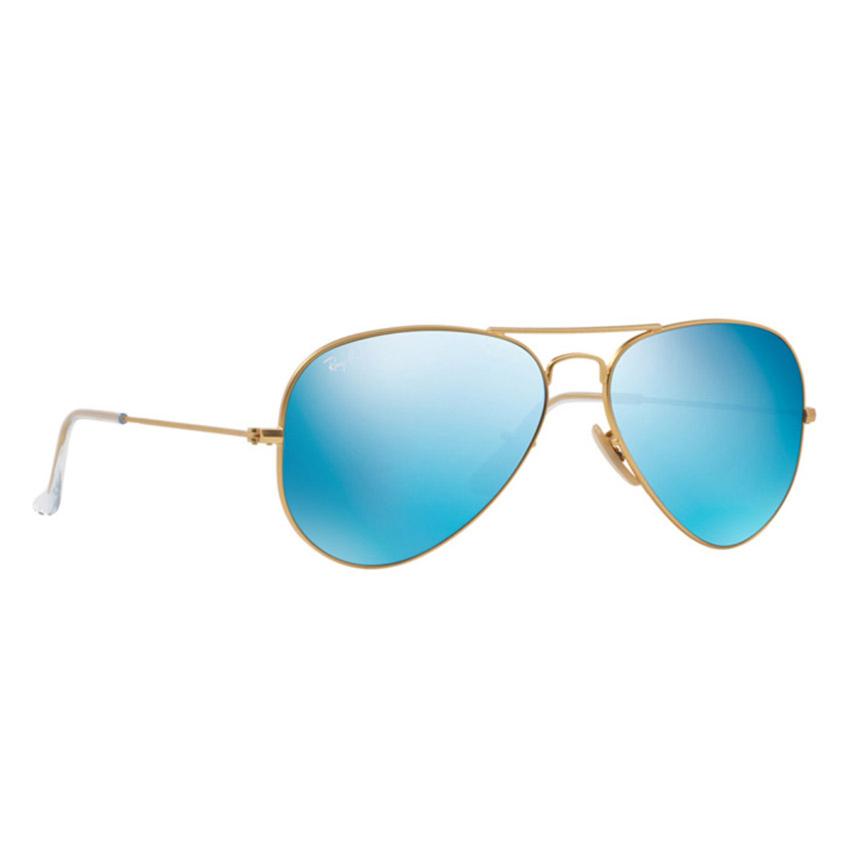 e1a1b00ceb ... Classic Aviator Sunglasses Arista Gold Crystal Green - RB3025 L0205 58  RB3025 L0205 · Ray Ban Unisex Aviator Sunglasses