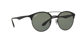sunglasses with polarized lenses 2lhm  RAY-BAN POLAR GREEN Polarized Lenses RB3545 186/9A UNISEX SUNGLASS