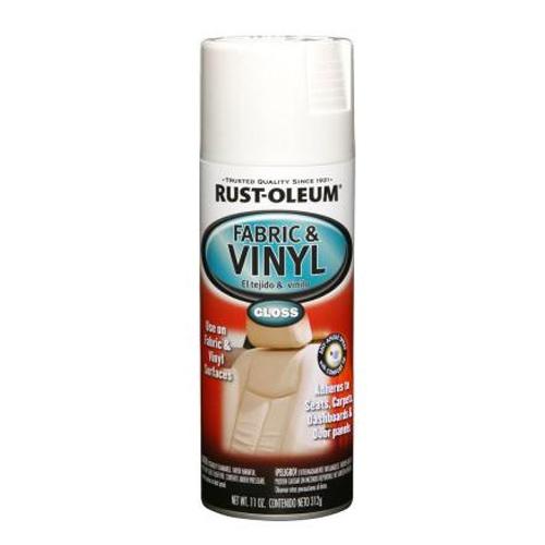 rust oleum fabric and vinyl spray 11oz white 3194 8519611. Black Bedroom Furniture Sets. Home Design Ideas