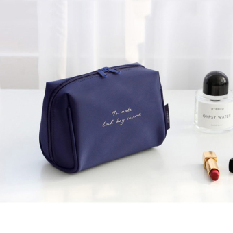 [Su Kailin _ portable travel cosmetic bag] makeup products washstorage bag Korean clutch bag female large trumpet