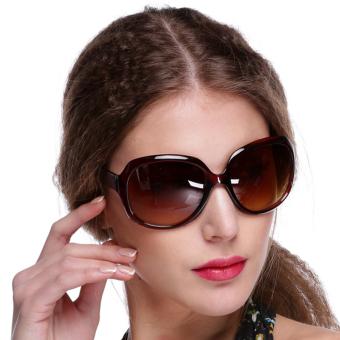 Oversized Retro Sunglasses  sunweb retro oversized women sunglasses brown lazada singapore