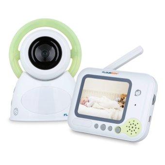 floureon bm254 baby monitor eu plug green export intl lazada singapore. Black Bedroom Furniture Sets. Home Design Ideas