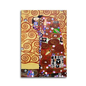 Klimt The Hug Oil Painting Stretched(Export)(Intl) | Lazada Singapore