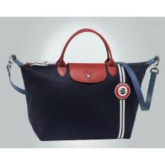 LONGCHAMP LE PLIAGE COCARD SERIES BAG LADIES NAVY