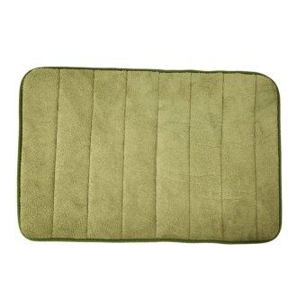 memory foam bath mats bathroom horizontal stripes rug non