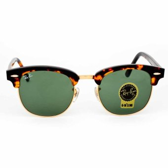Ray-Ban RB3016-W0366 Clubmaster Acetate / Metal Full frame ...