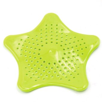 starfish shaped silicone sink strainer floor drain cover hair catcher shower trap basin filter. Black Bedroom Furniture Sets. Home Design Ideas
