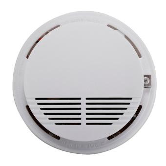 wireless smoke detector home security fire alarm sensor system cordless export intl lazada. Black Bedroom Furniture Sets. Home Design Ideas