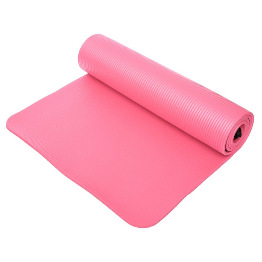 "Reebok Double Sided 4mm Yoga Mat- ""Dont Stress"""