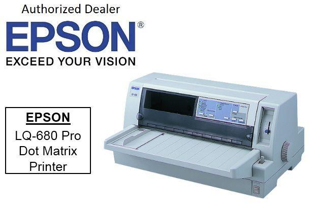 EPSON LQ-680 PRO DOT MATRIX PRINTER TREIBER