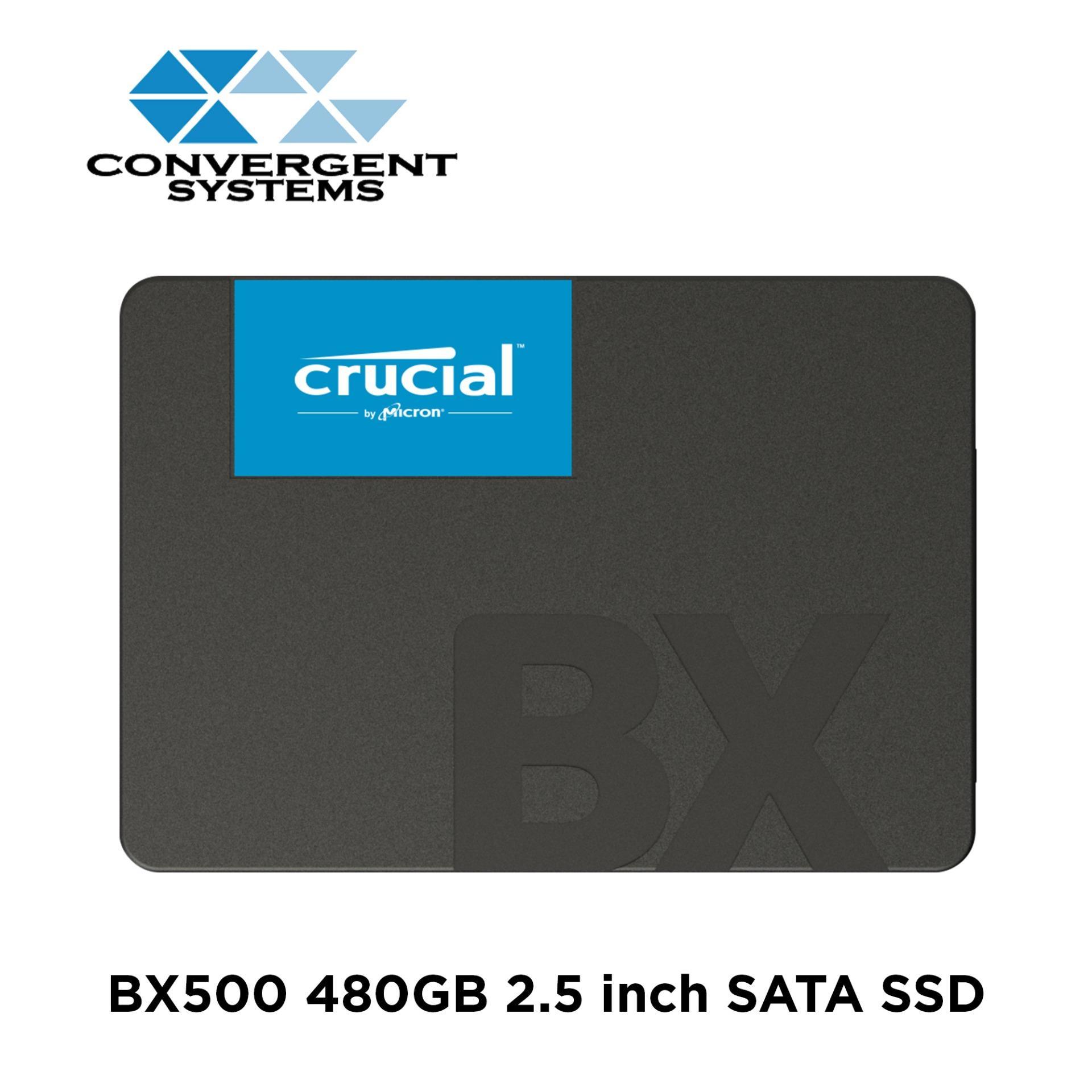 "Crucial 480GB BX500 2 5"" SATA SSD"