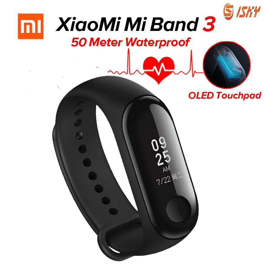 Buy Xiaomi Accessories Laptops Lcd Touchscreen Redmi Note 4 Putih Mi Band 3 Miband Smart Fitness Tracker Heart Rate Monitor 078