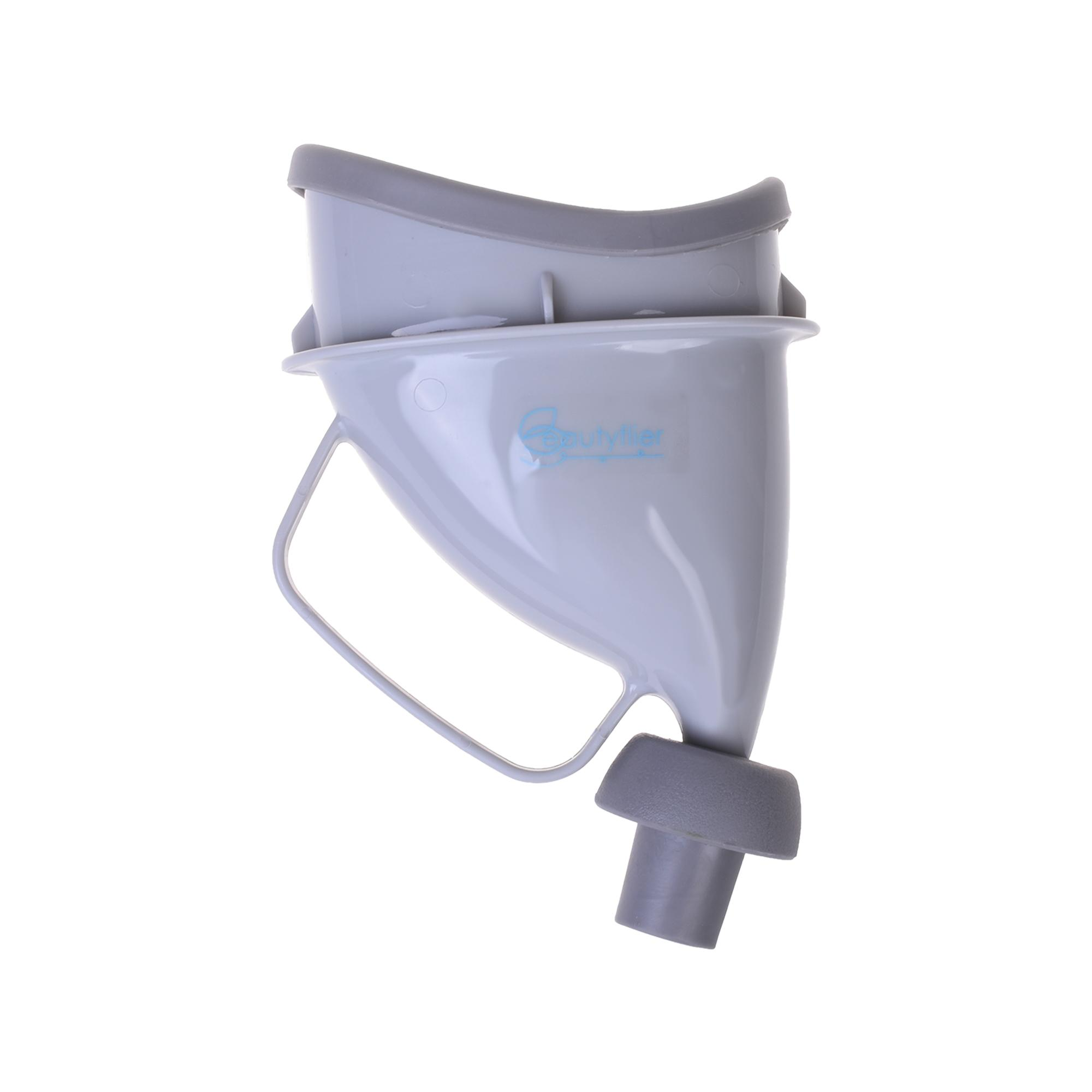 Lightning Power-Unisex Portable Urinal Potty Device Reusable Car Funnel Camping Travel Toilet Pee Bottle Car Portable Urinal Ladies Outdoor Travel Standing Emergency Urinal Car On The Elderly And Children Urinary(gray) By Lightning Power.
