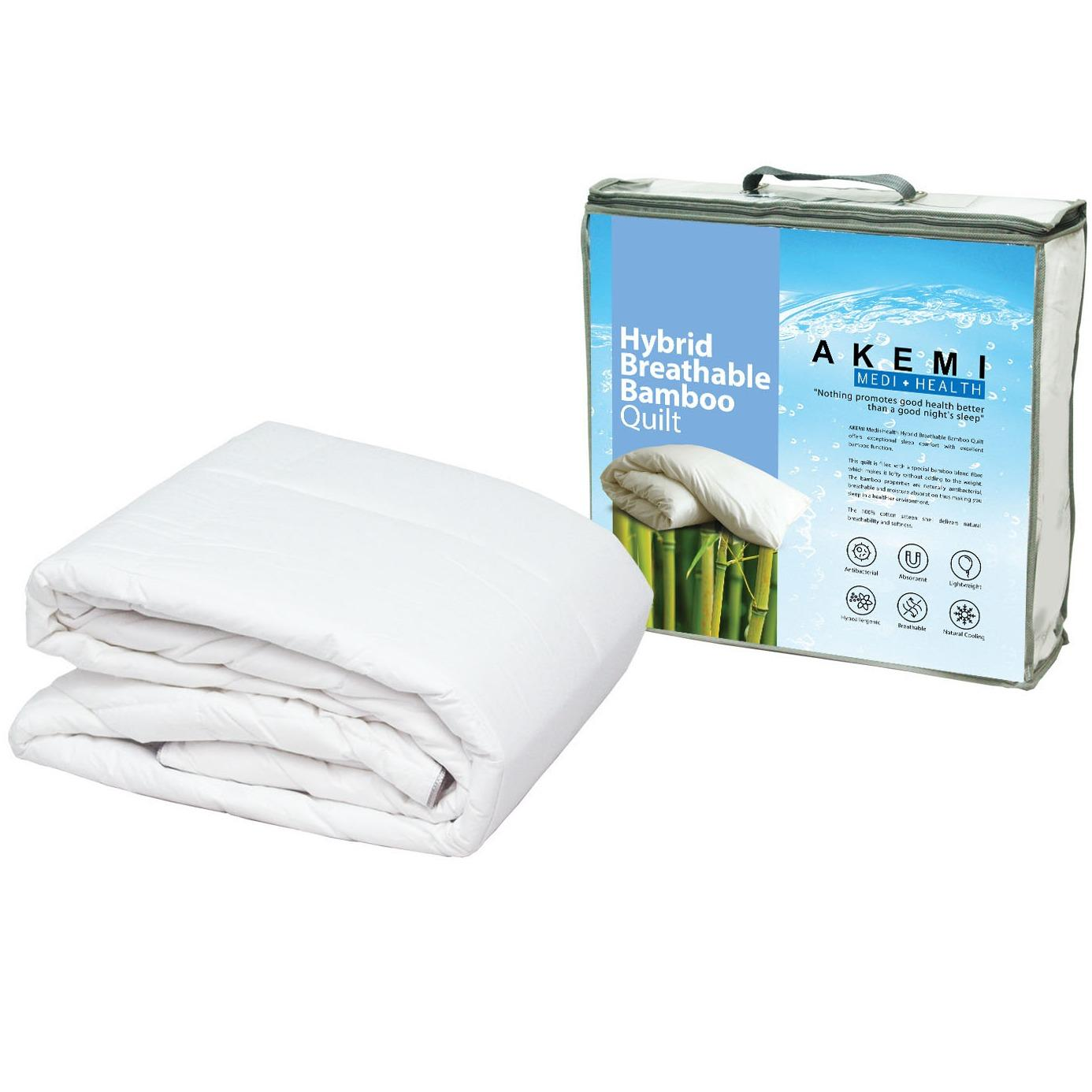 Akemi Medi Health Hybrid Breathable Bamboo Quilt Price Comparison