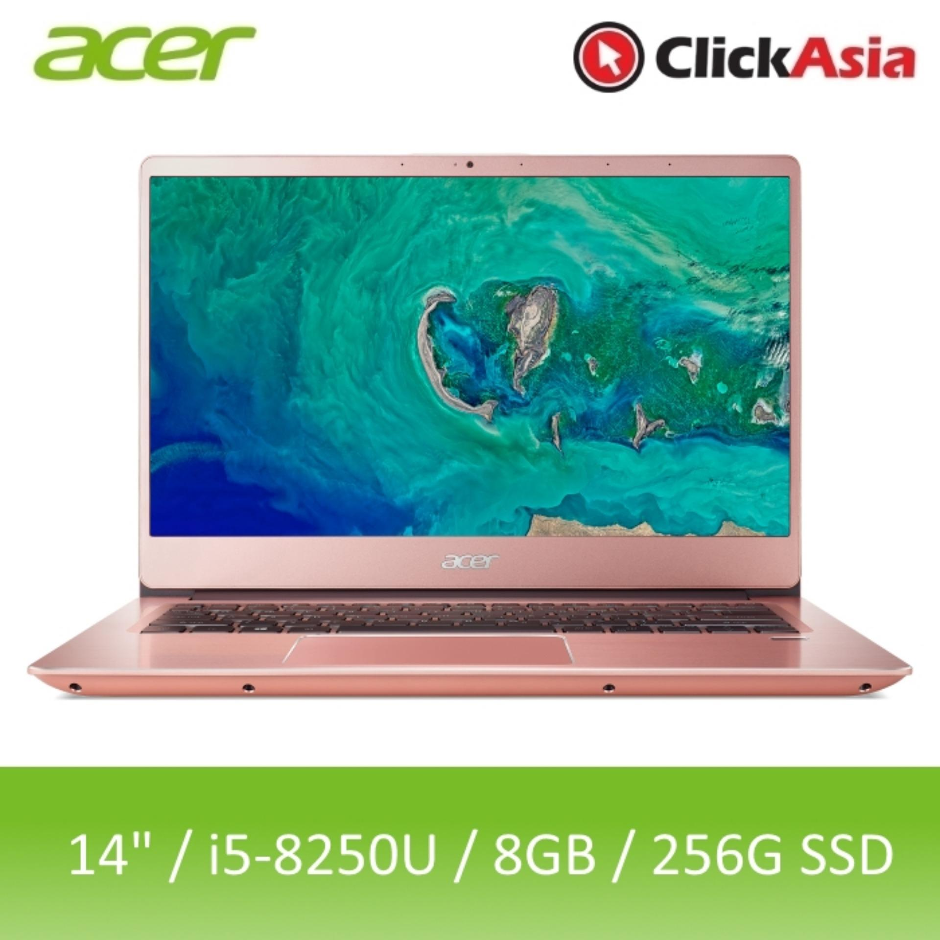 Acer Swift 3 (SF314-54-580S) - 14 FHD/i5-8250U/2*4GB DDR4/256GB SSD/W10 (Pink)