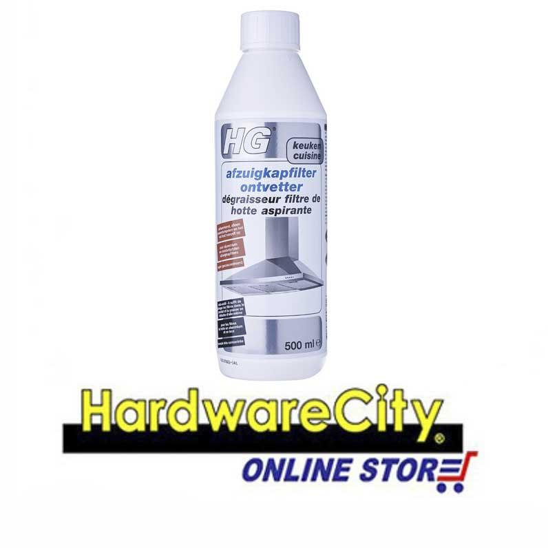 Hg Hood Filter Degreaser 500ml [hg363] By Hardwarecity Online Store.