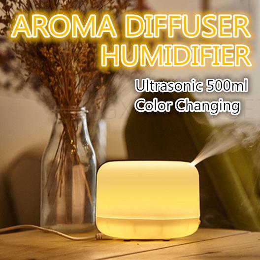 Get The Best Price For Muji Style Essential Oil Diffuser Aroma Ultrasonic Humidifier Air Purifier 500Ml