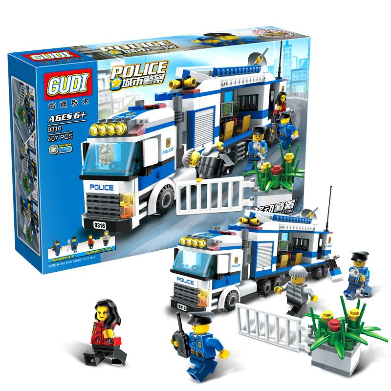 The Police LEGO City Series Toy Building Blocks
